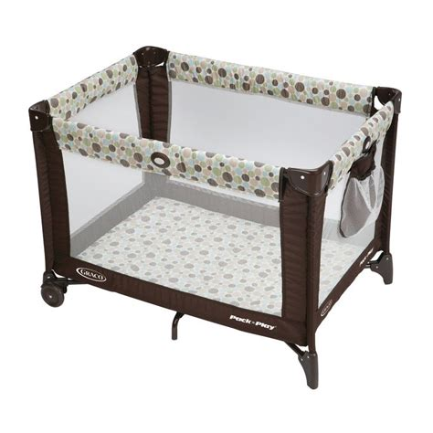 Playard Crib by Graco Pack Play Playard Baby Bassinet Infant Crib Playpen