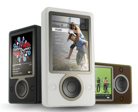 Microsoft Zune challenge to apple microsoft hits back with zune hd