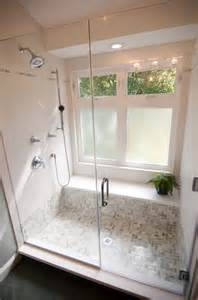 bathroom window in shower ideas walk in shower