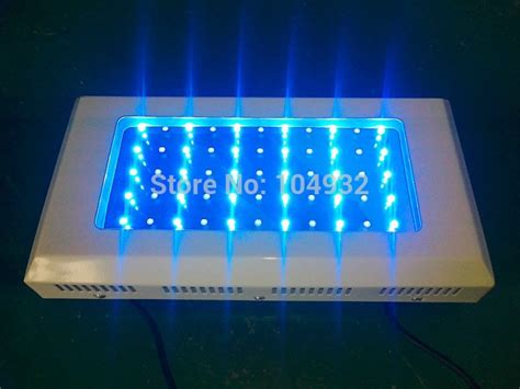 Lu Led Aquarium Air Laut 165w 55 3w led aquarium light freeship by fedex high par royal blue bridgelux led reef tank