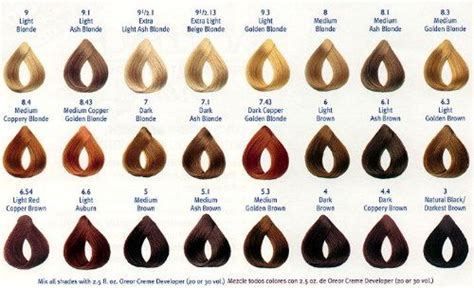 loreal professional hair color chart loreal hair colors chart 2012 fashion trends for 2013 l oreal professional hair color products these are a few of my favorites things
