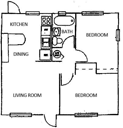 housing benefit 2 bedroom rate gulfstream apartments in