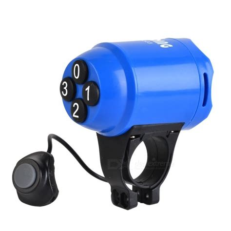 Sunding Waterproof Bicycle Alarm Horn sunding sd 603 abs bicycle horn and electron loud alarm blue free shipping dealextreme