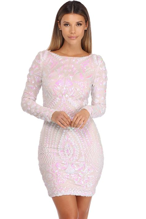 Gemmas Adventures In Shopping Bringing Back The Dress by Gemma White Iridescent Sequin Dress