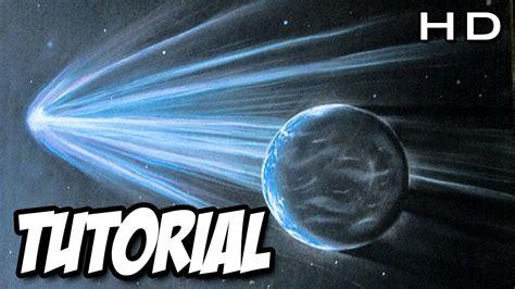 imagenes del universo faciles c 243 mo dibujar un planeta y un cometa realista paso a paso