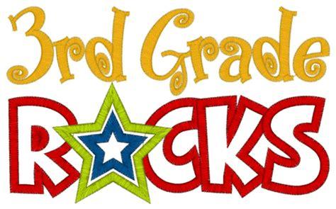 3rd Grade Clipart certificated staff third grade