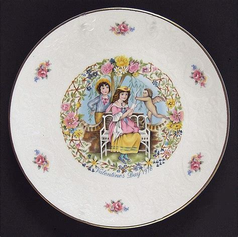valentines day plates royal doulton valentines day plate 1982 from my