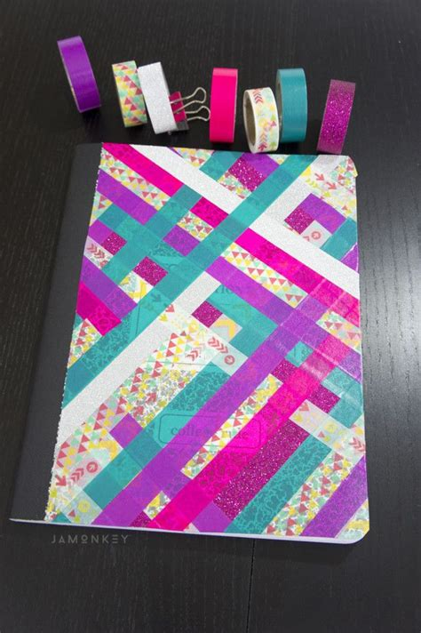washi tape designs 25 best ideas about washi tape notebook on pinterest