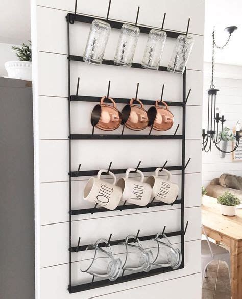 Hanging Coffee Mug Rack by Best 20 Coffee Mug Display Ideas On Hanging