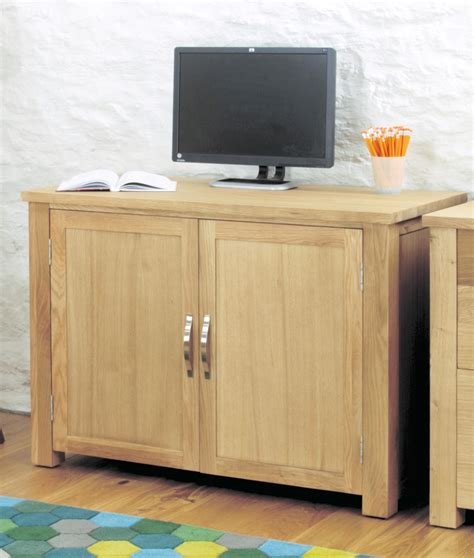 hidden office desk salisbury oak home furniture hidden home office pc