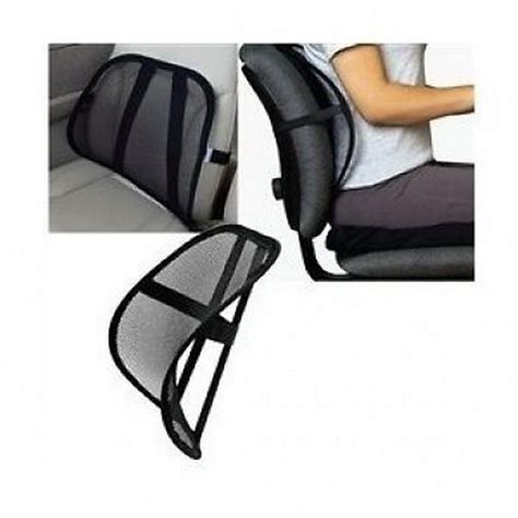 Lumbar Support Chair by Back Massager Seat Back Support Car Seat Chair