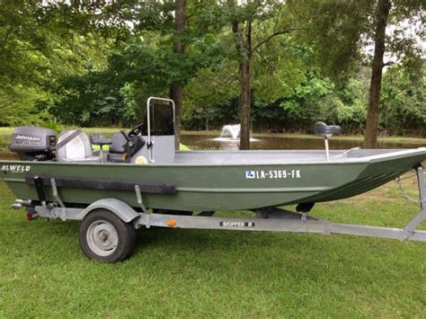 flat bottom boat for sale louisiana 2004 alweld center console flat jon boat for sale in
