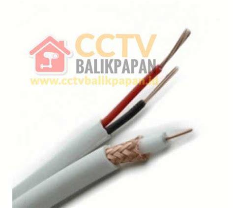Spc Coaxial Rg59 Power kabel coaxial cctv power 100 meter cctv balikpapan