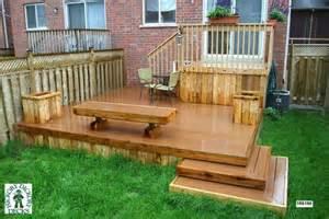 deck plans com bench diy deck plans