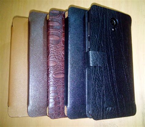 Casing Hp Evercoss A66a sarung hp flip leather cross evercoss a66a