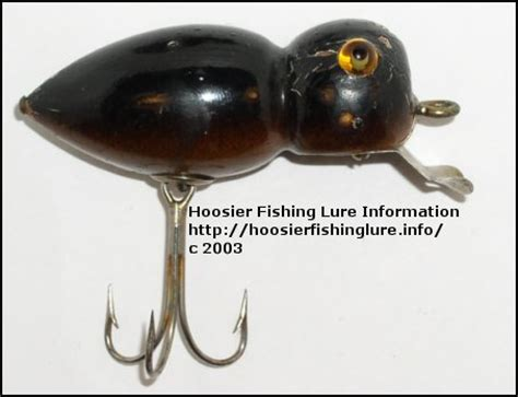 doodle bug lure hoosier fishing lure information item template