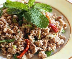 thai ground pork salad larb mu appetite for china
