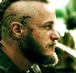 what are ragnar lothbroks head tattoos ragnar ink it pinterest
