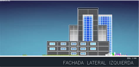 3 Stars Hotel 2D DWG Design Elevation for AutoCAD