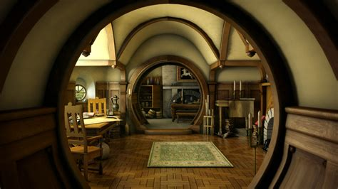 the hobbit lord rings lotr architecture house room