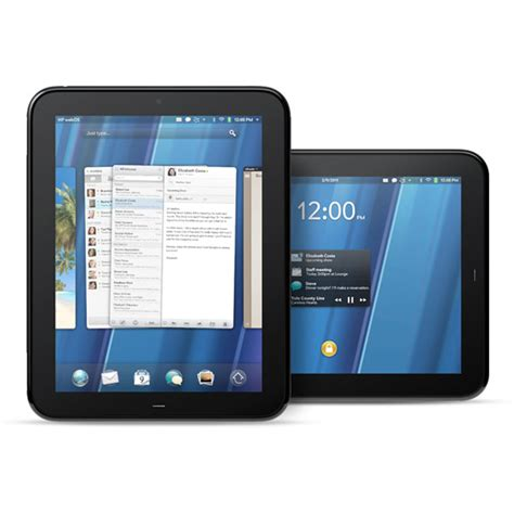 Hp Touchpad Now Up For Hp Touchpad Webos Tablet Slate Goes Official