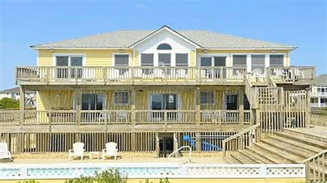 065 Dune It Right Oceanfront Outer Banks Vacation Rental Corolla House Rental