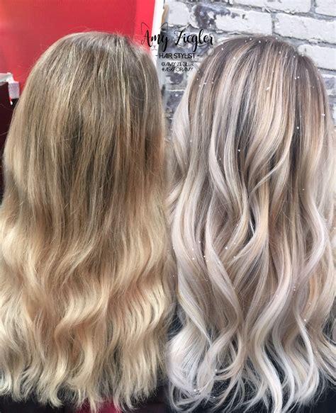 platinum blonde transformation before after transformation snow white blonde platinum