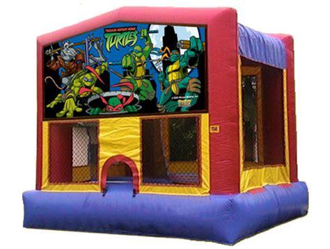 ninja turtle house ninja turtles inflatable bounce house rentals jumpers