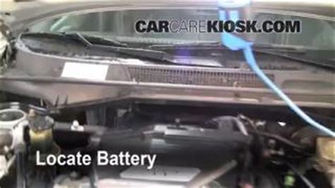 Toyota 2005 Battery How To Clean Battery Corrosion 2001 2005 Toyota Rav4