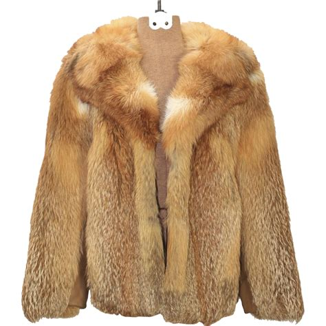 fur coat vintage s fox lipman s fur coat jacket waist sz small house of