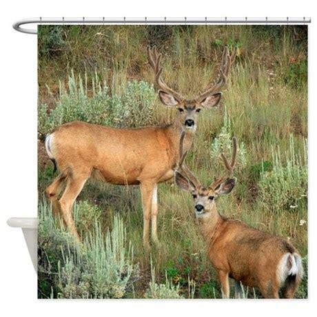 deer shower curtains mule deer velvet shower curtain by saltypro shop