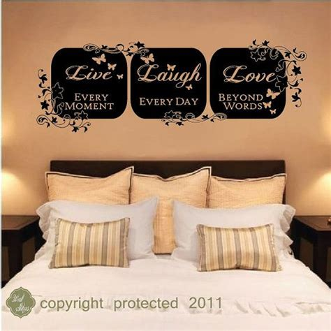 live love laugh home decor vinyl wall decal sticker live laugh love wall art home decor