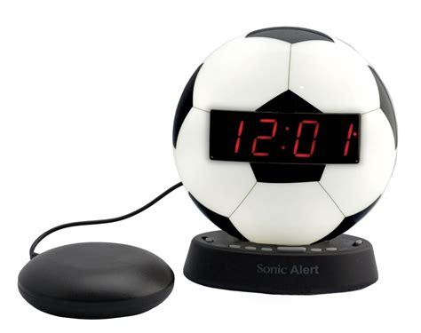 maxiaids  sonic glow soccer ball alarm clock