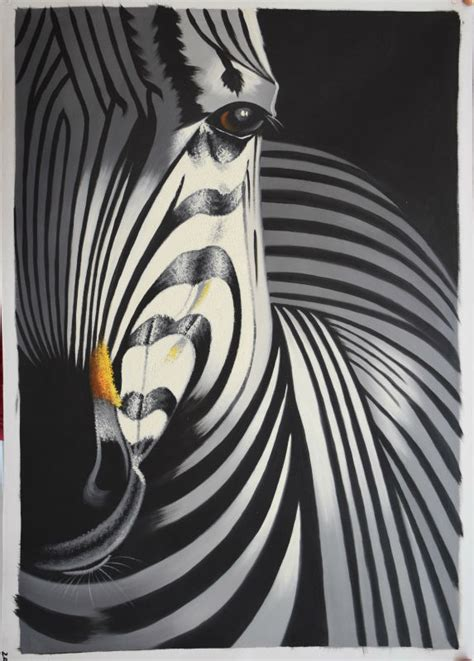 oil paintings printing for sale zebra canvas prints modern online get cheap half zebra aliexpress com alibaba group