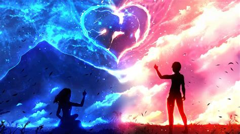 wallpaper gambar couple download couple anime love wallpaper for desktop mobile