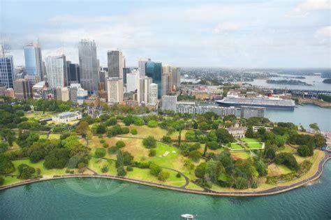 Sydney Royal Botanic Garden Aerial Owen Wilson Photography
