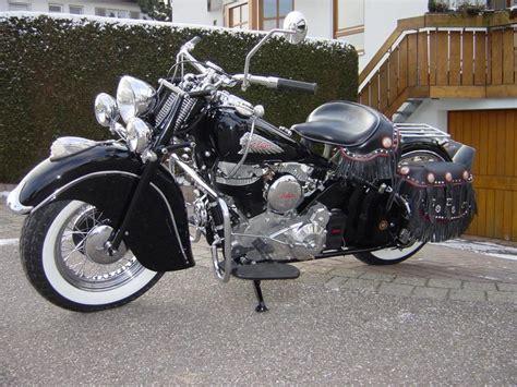 Indian Motorrad 1950 by Us Bikes Indian Chief Bj 1948 Originalrestauration