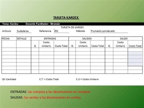 formato de inventario hardware software slideshare modelo de inventarios slideshare slideshare modelo kardex