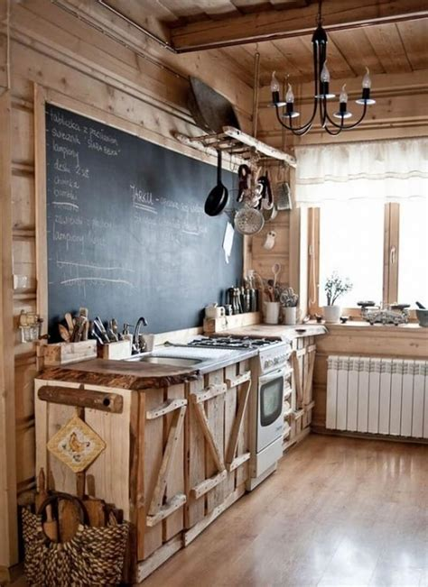 Rustic Country Kitchen Cabinets by 23 Best Rustic Country Kitchen Design Ideas And