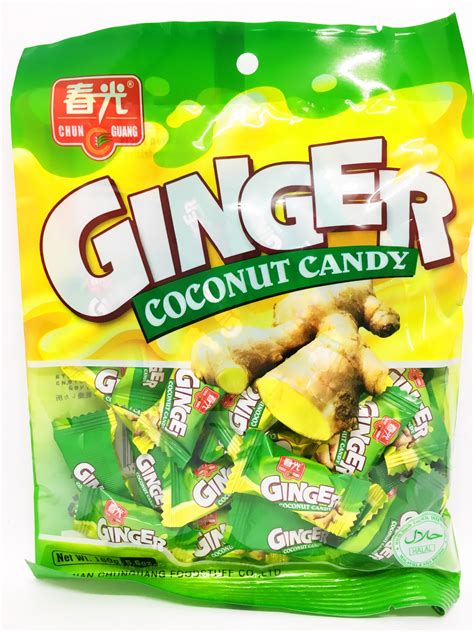 ginger coconut candy   buy asian food