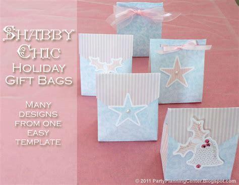 gift bag templates free printable planning center printables free
