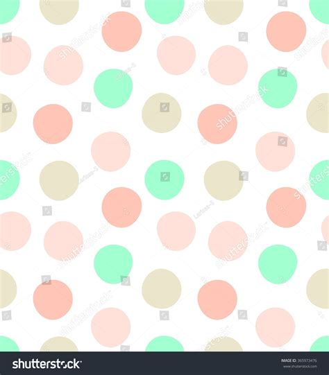 free solid pattern background cute kids polka dot colorful seamless stock illustration