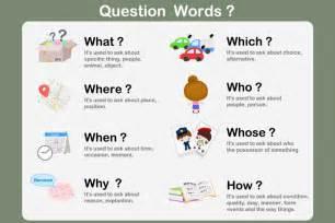 English worksheets for kids question words worksheet