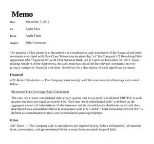 Memo Header Exles Audit Memo Template 10 Free Word Excel Pdf Documents Free Premium Templates
