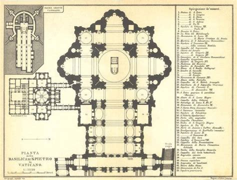 sistine chapel floor plan 1926 st peters basilica floor plan vatican city black