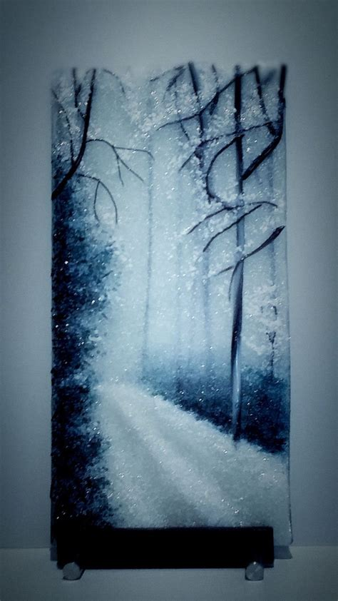 glass acrylic painting 220 best fused frit paintings images on pinterest