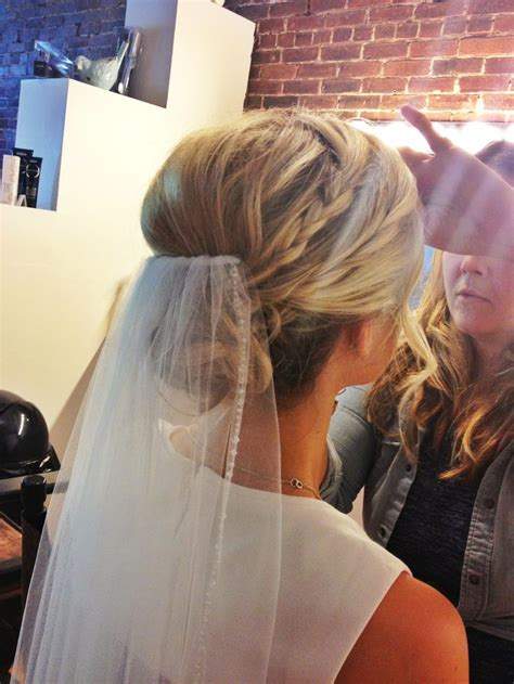 Wedding Hairstyles With Braids And Veil by Wedding Hairstyles With Braids And Veil Www Pixshark