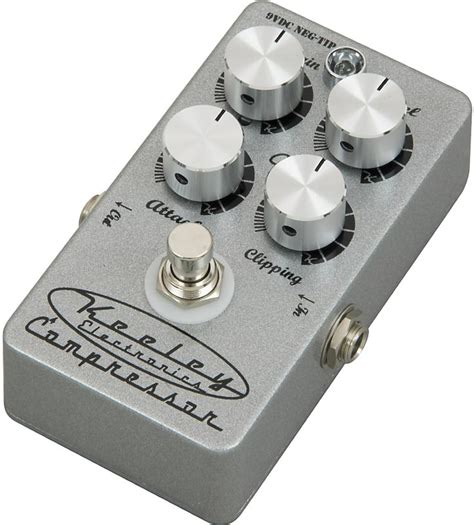 on review keeley 4 knob compressor pedal the hub