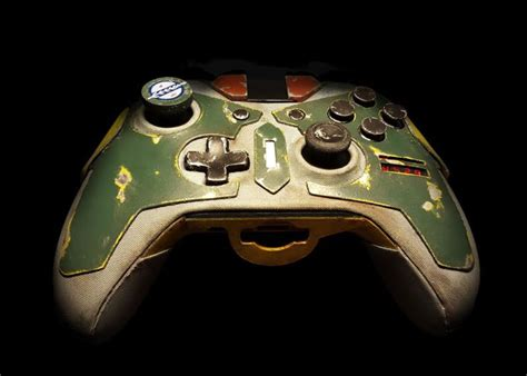 fortnite with ps3 controller boba fett xbox one controller is bountyful technabob