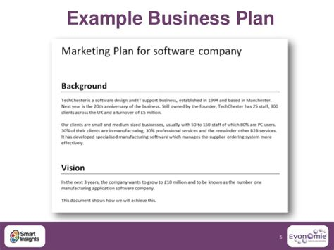 princess trust business plan template exle of a business plan for a software company